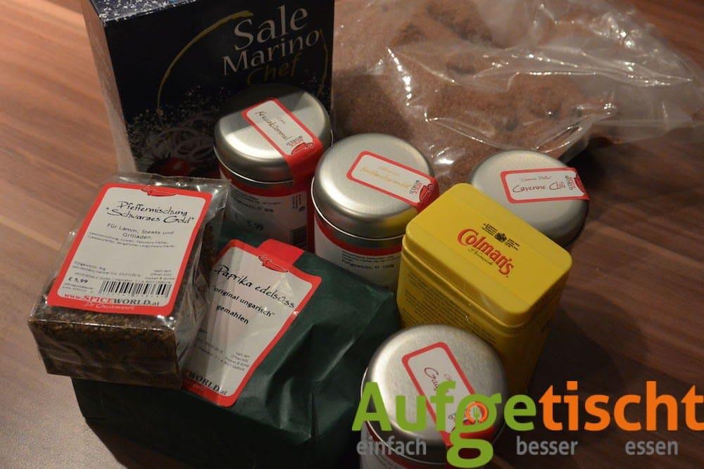 Grill und BBQ Gewürz: Magic Dust Rub - magic dust rub 1 - 5