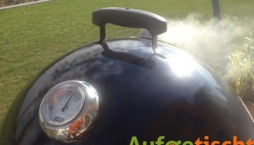 Smoke on! – Weber Smokey Mountain richtig verwenden