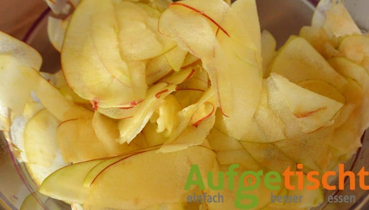 Apfelröschen - der neue Blickfang zum Kaffee - apfelrosen1 - 4