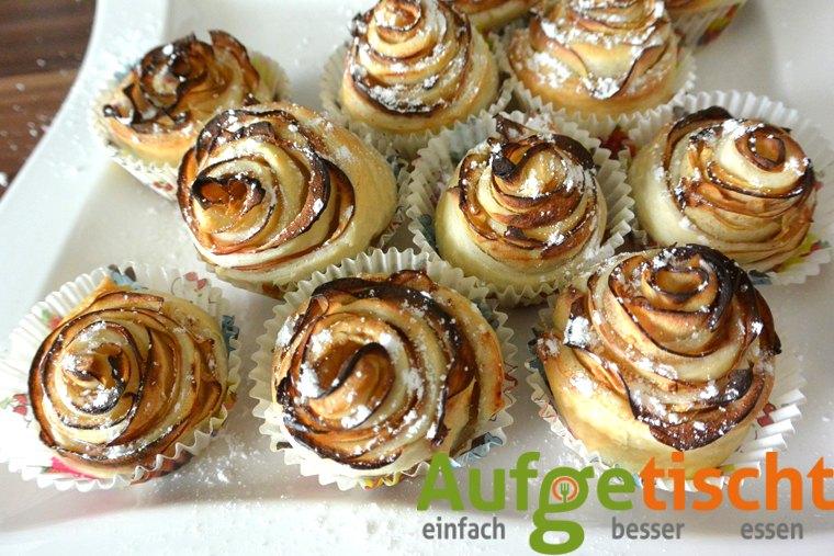 Apfelröschen - der neue Blickfang zum Kaffee - apfelrosen4 - 12