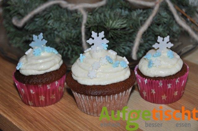 cupcakes mit frischkäsefrosting