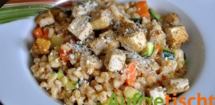 gemüserisotto mit tofu