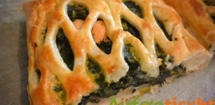 Lachs auf Spinat in einer Blätterteighülle - lachs2 - 2