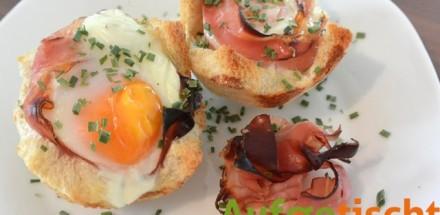 Zeit fürs Frühstück mit Speck-Ei-Muffins - eimuffins - 2