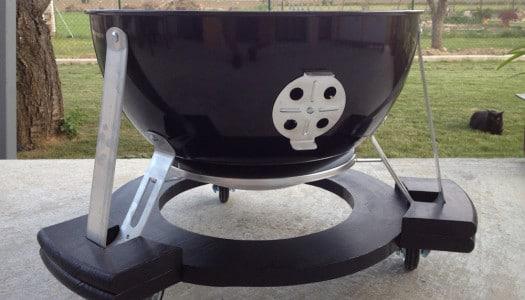 How to: Fahrbares Gestell für den Weber Smokey Mountain 57cm selber bauen