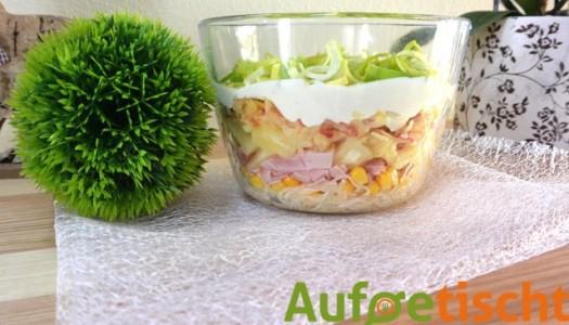 Schichtsalat…der perfekte Frühlingsstart