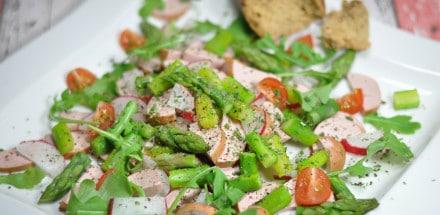 Sommerlicher Wurstsalat mit Spargel - spargelsalat3 - 3