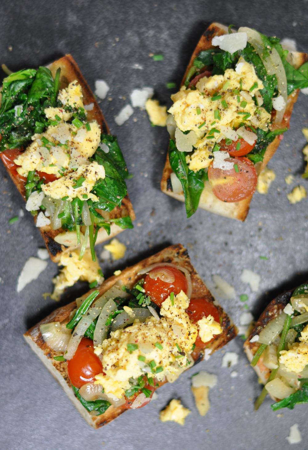 Spinatschnitten - so gehts vegetarisch! - spargelschnitten5 - 9