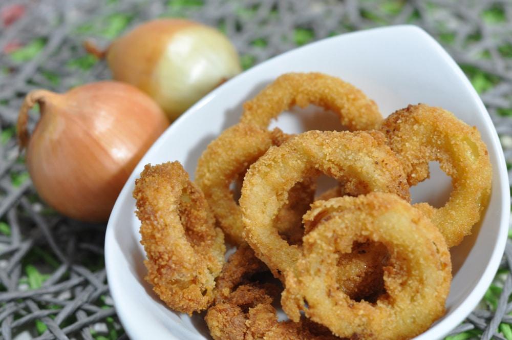 Onion Rings -die knusprige Beilage - zwiebelringe4 - 11