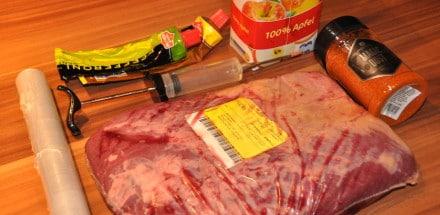 Beef Brisket aus dem Watersmoker - beef brisket 01 - 5