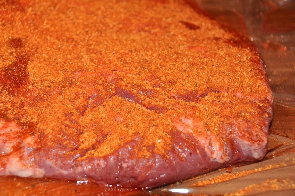 Beef Brisket aus dem Watersmoker - beef brisket 03 - 9