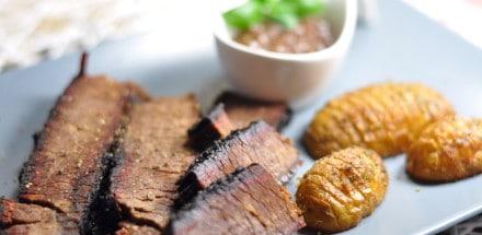 Beef Brisket aus dem Watersmoker - beef brisket 06 - 3