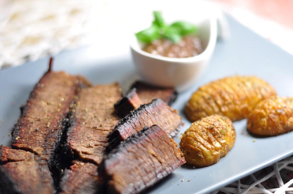 Beef Brisket aus dem Watersmoker - beef brisket 06 - 15
