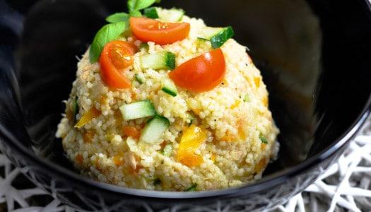 Couscous Salat mit Thunfisch