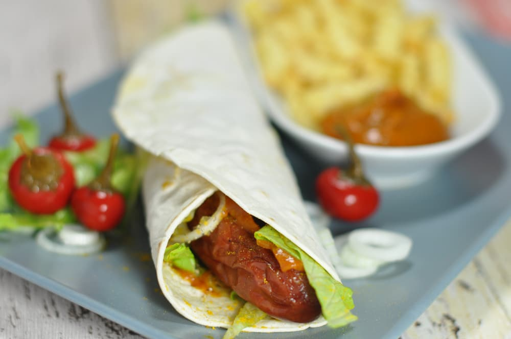 Würzige Curry Krainer Wraps - currykrainerwrap2 - 8