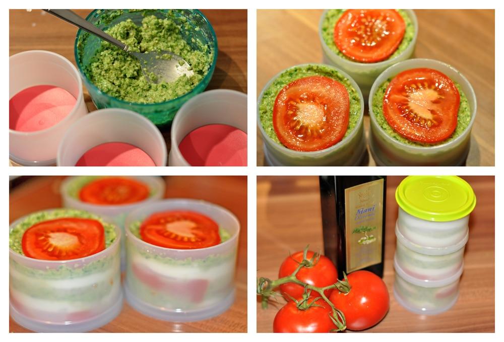 Tomaten-Mozzarella Törtchen - mozzarellatoertchen1 - 4