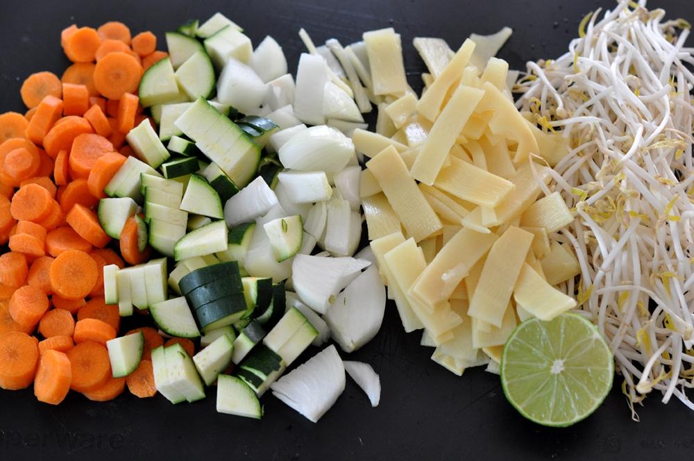 Gebratene Nudeln - einfach lecker - wok2 - 7
