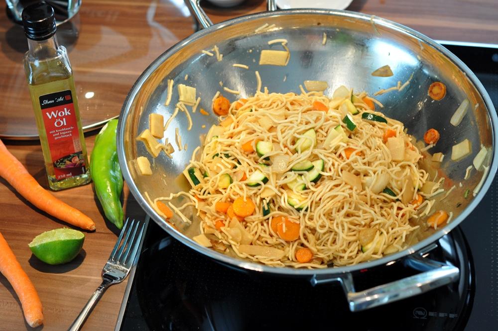 Gebratene Nudeln - einfach lecker - wok4 - 11