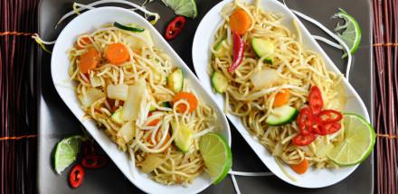 Gebratene Nudeln - einfach lecker - wok5 - 5
