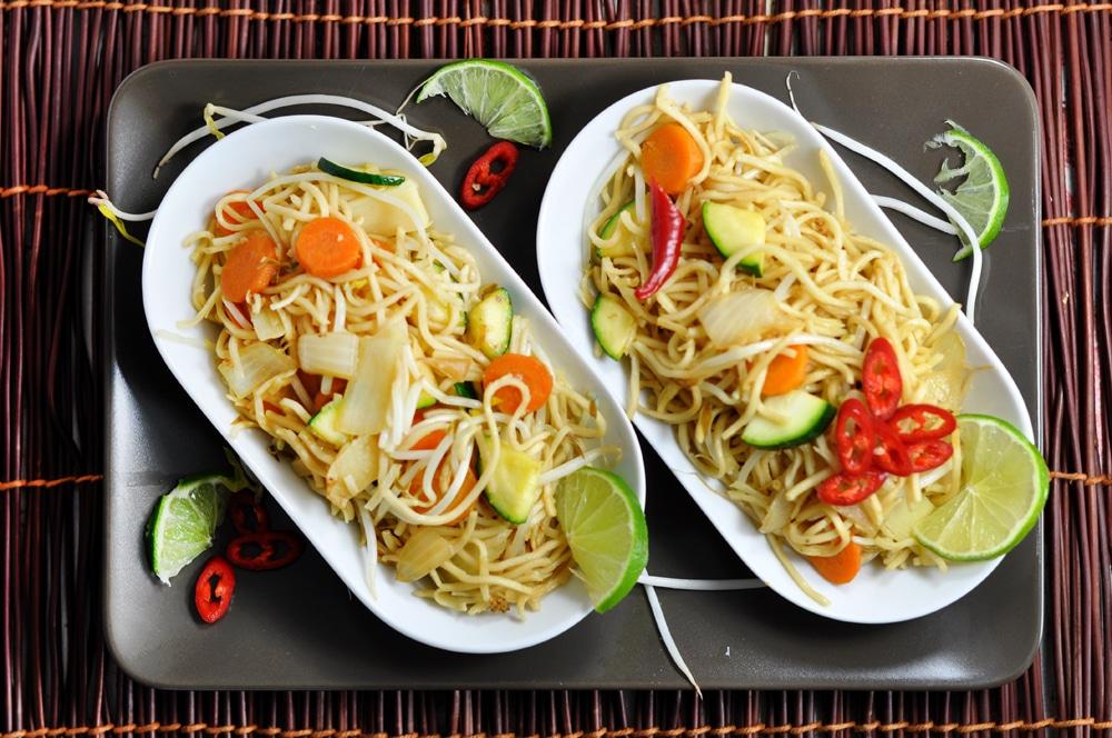 Gebratene Nudeln - einfach lecker - wok5 - 13