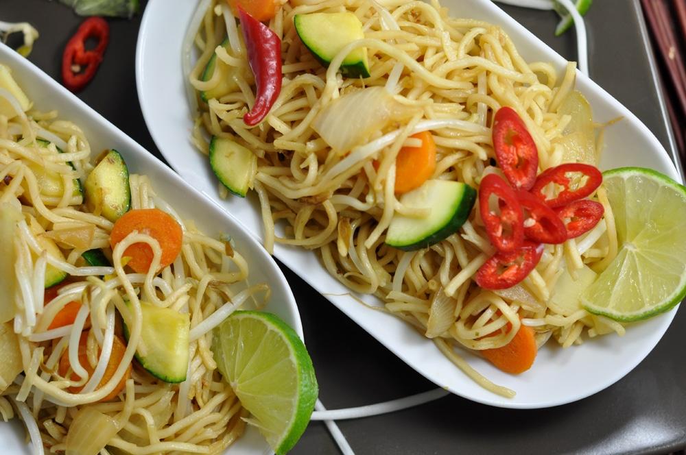 Gebratene Nudeln - einfach lecker - wok7 - 15