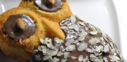 Schneller Eierlikörkuchen in Eulenform - eulenform2 - 3