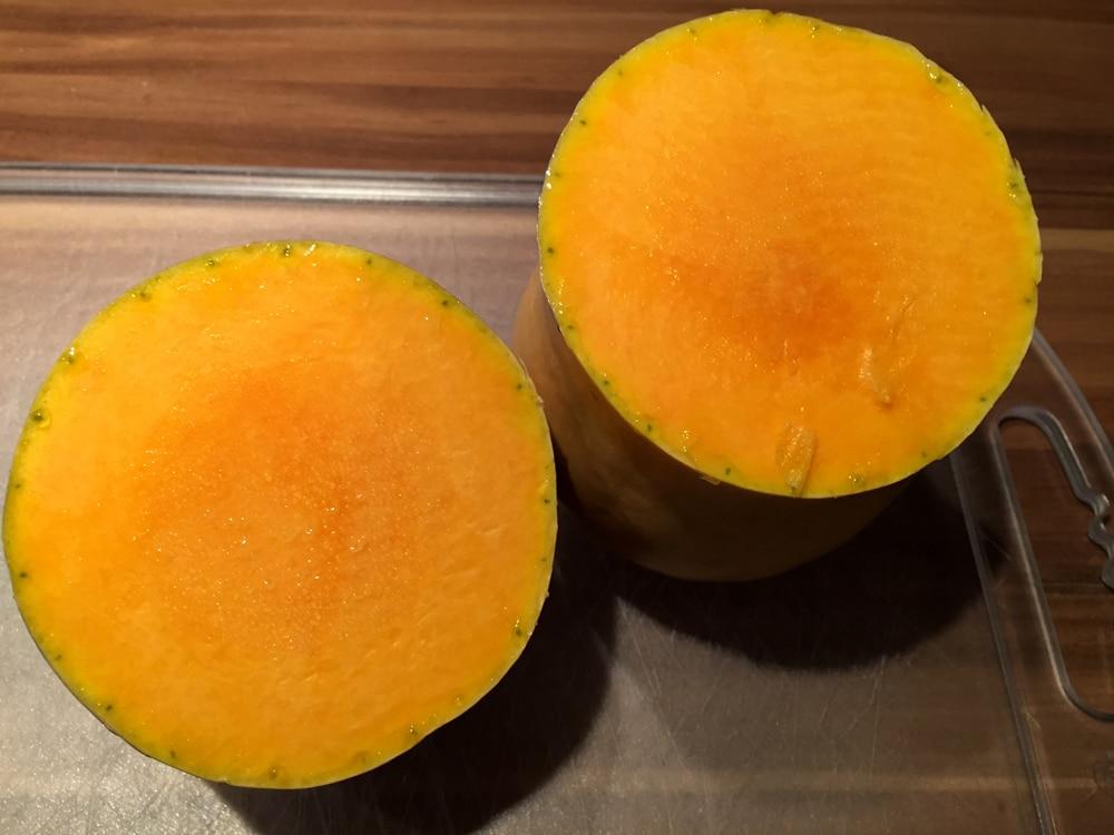 Kürbiscremesuppe mit Butternusskürbis - kürbiscremesuppe3 - 4