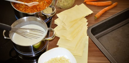 Lasagne mit Tofu und Gemüse - lasagne2 - 7