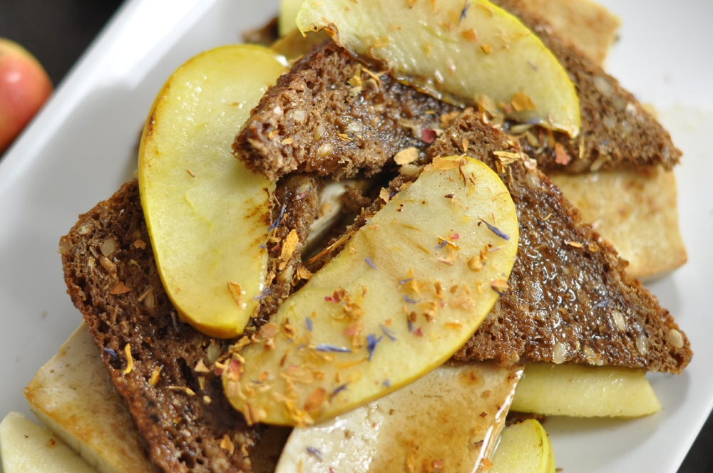Apfel-Tofu-Frühstück - mit Schwung in den Tag! - apfel tofu3 - 8
