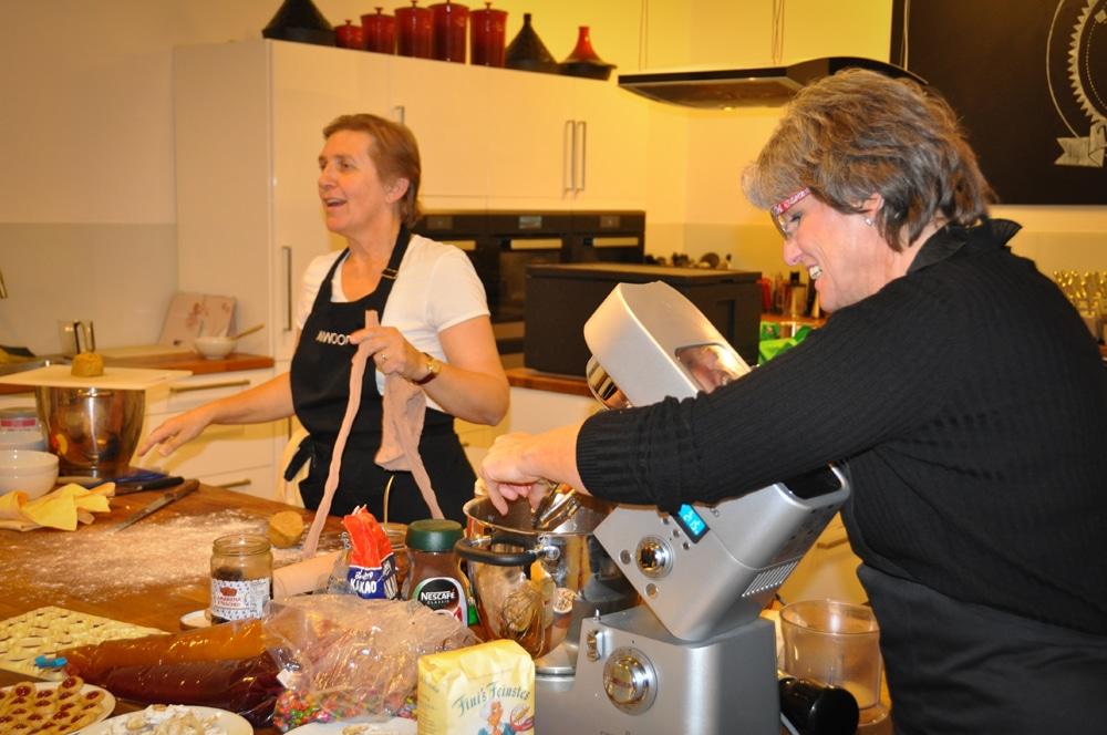 Weihnachtsevent mit Kenwood bei ichkoche.at - backevent 06 - 12