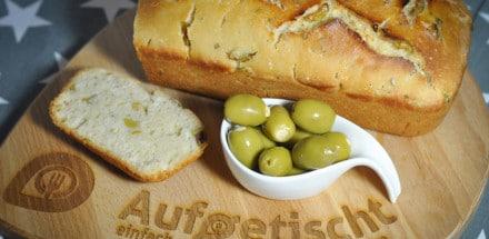 Brotbacken leicht gemacht - frisches Olivenbrot - olivenbrot4 - 2