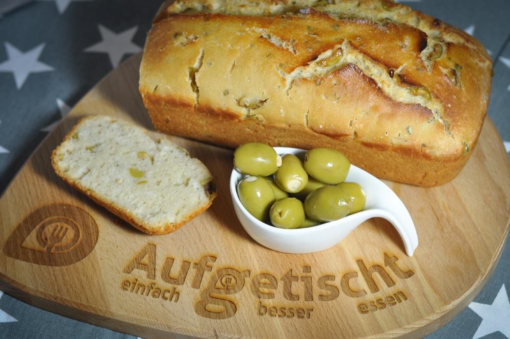 Brotbacken leicht gemacht - frisches Olivenbrot - olivenbrot4 - 14