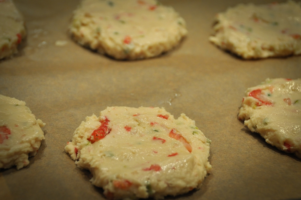 Strawberry-Pistachio-Cookies - strawberry cookies6 - 8