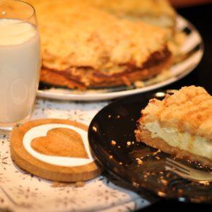 Low Carb Cheesecake mit Himbeeren - cheesecake apfelstreuselkuchen2 - 10