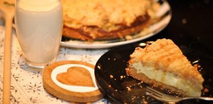 Cheesecake trifft Apfelstreuselkuchen - cheesecake apfelstreuselkuchen2 - 11