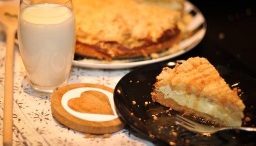 Cheesecake trifft Apfelstreuselkuchen