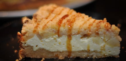 Cheesecake trifft Apfelstreuselkuchen - cheesecake apfelstreuselkuchen3 - 13
