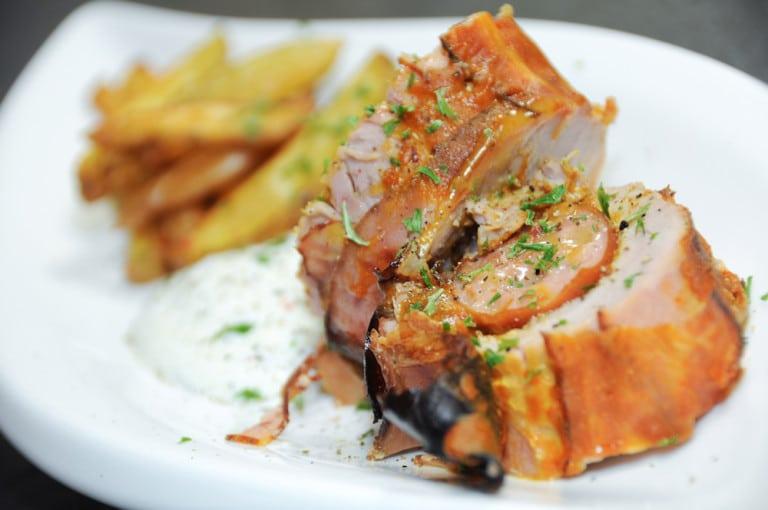 Curry-Käsekrainer im Schweinefilet-Speckmantel - curry kaesekrainer filet speck mantel 13 - 3