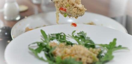 Quinoa Gemüsepfanne mit Hühnerfleisch - quinoa gemüsepfanne2 - 6
