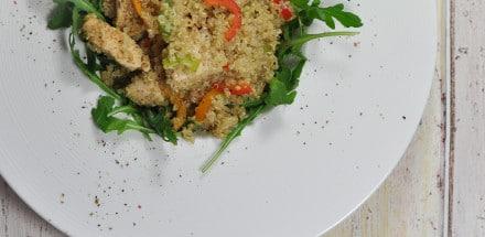 Quinoa Gemüsepfanne mit Hühnerfleisch - quinoa gemüsepfanne3 - 8