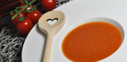 Tomatencremesuppe wie aus Omas Küche - tomatencremesuppe - 3