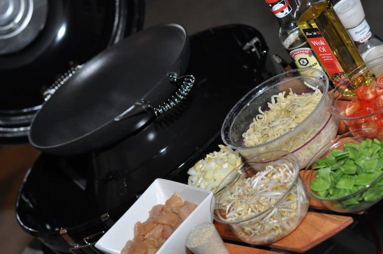 Asiatischer Gemüse Wok mit Hühnerbrust - asiaitischer gemuese wok 02 - 8