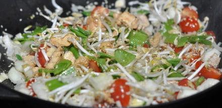 Asiatischer Gemüse Wok mit Hühnerbrust - asiaitischer gemuese wok 04 - 12