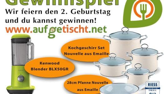 Gewinnspiel zum 2. Bloggeburtstag