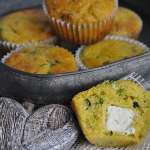 Bärlauch Avocado Aufstrich - polenta bärlauch muffins2 - 14