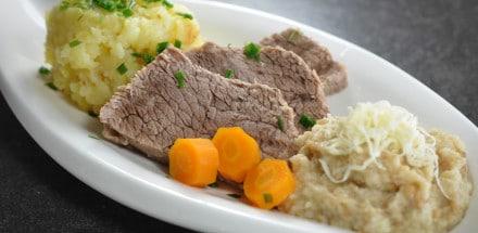 Tafelspitz mit Semmelkren und Kartoffelsterz - tafelspitz - 2