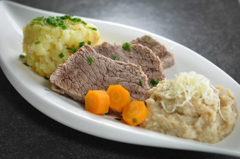 Tafelspitz mit Semmelkren und Kartoffelsterz - tafelspitz - 8