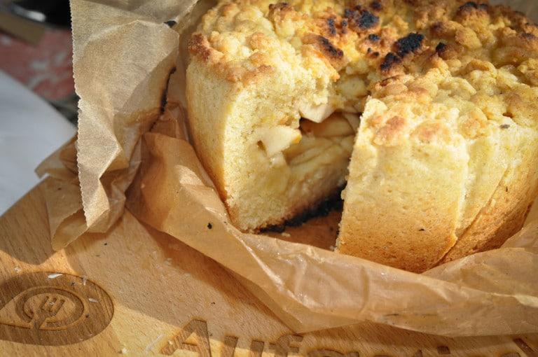 Apfelkuchen aus dem Dutch Oven - apfelkuchen dutch oven12 - 18