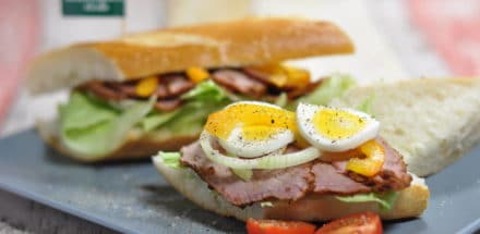 Pastrami Sandwich New York City Style - pastrami sandwich 01 - 3