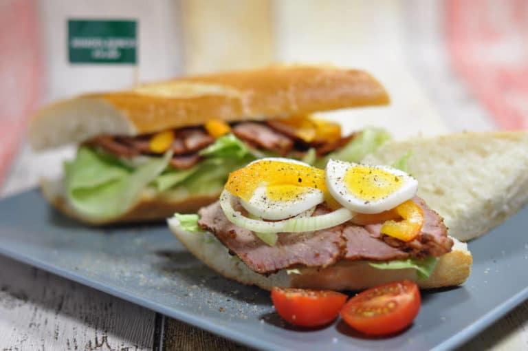Pastrami Sandwich New York City Style - pastrami sandwich 01 - 4